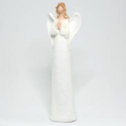 Biely anjel s rukami spolu