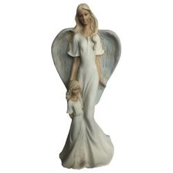 Anjel Yvonne s dieťatkom